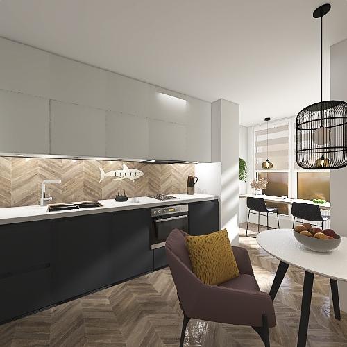 Лоркина Interior Design Render
