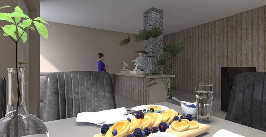 Breakfast In The Mornin' Interior Design Render