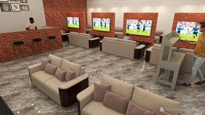 portosaid Interior Design Render