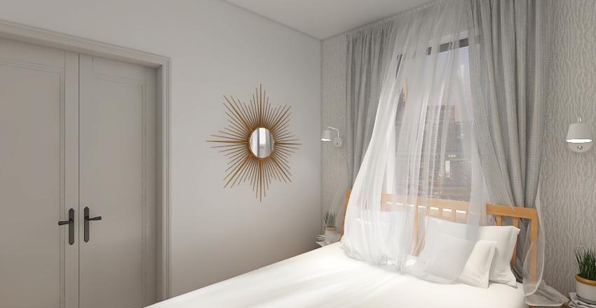 Brooklyn Apartment Interior Design Render