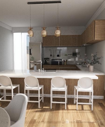 smart Interior Design Render