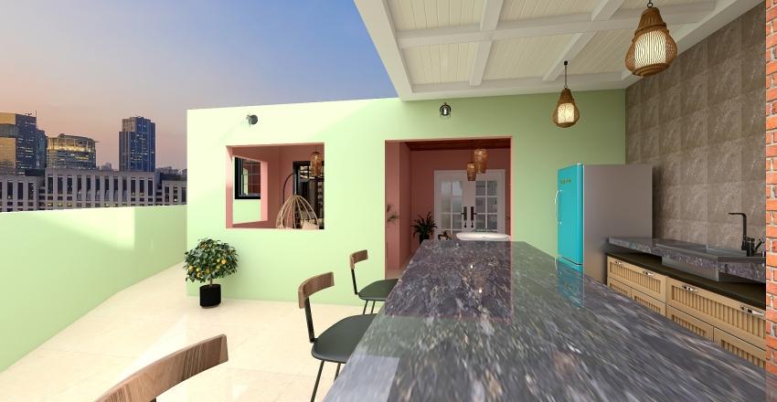 Apê 1207 Interior Design Render