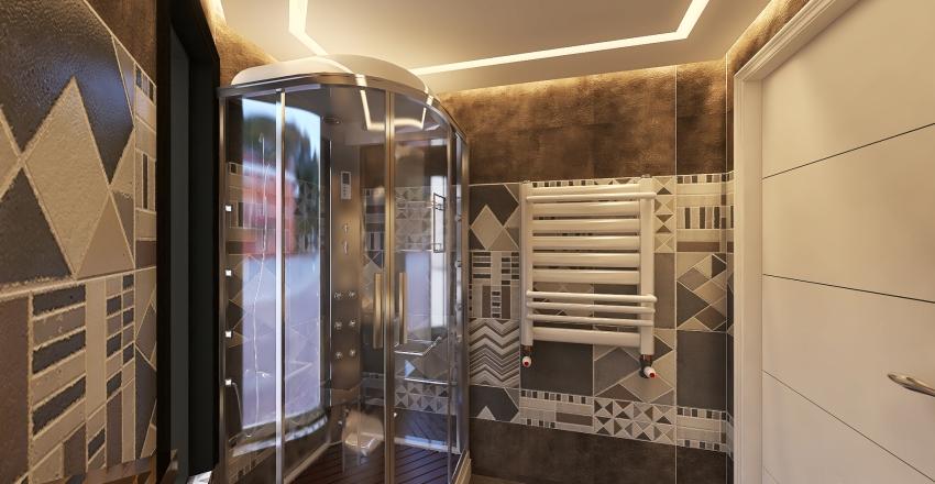 luxury house modern Interior Design Render