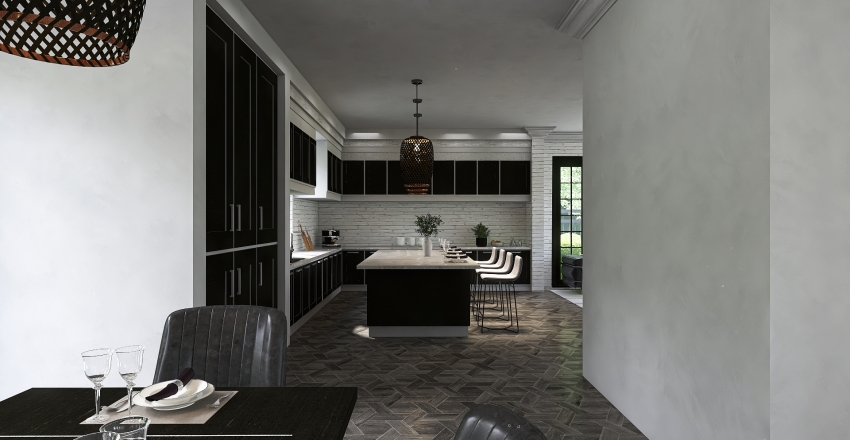 THE ENGLISH MANOR Interior Design Render