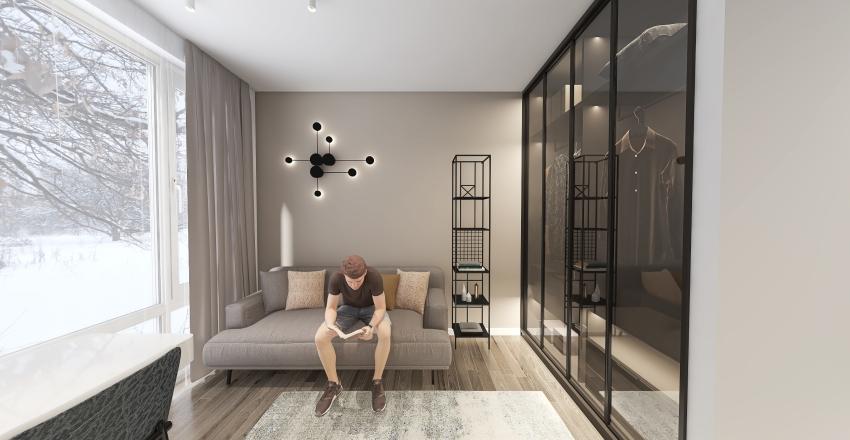 Квартира в Москве. Interior Design Render