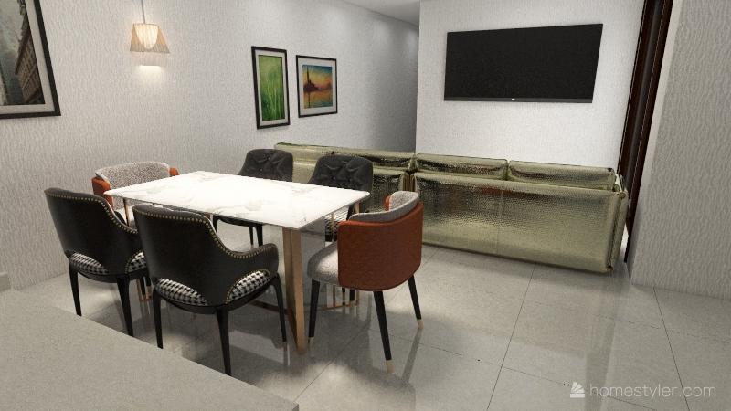 CHINCOL MEDIDAS 2021 Interior Design Render