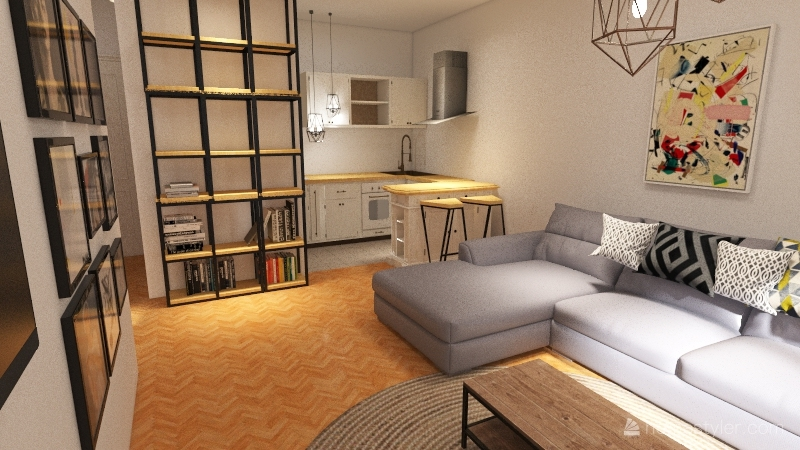Copy of Nista mi se ne svidja Interior Design Render