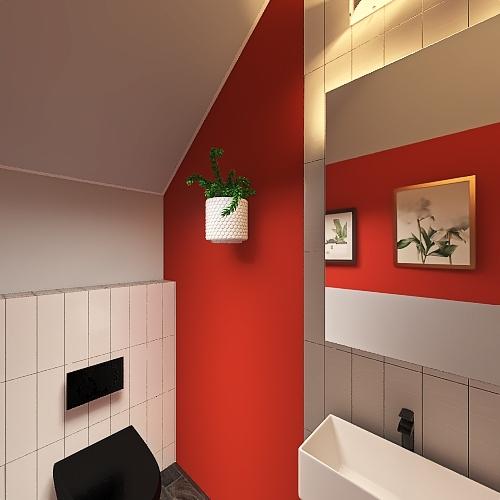 toilett Interior Design Render