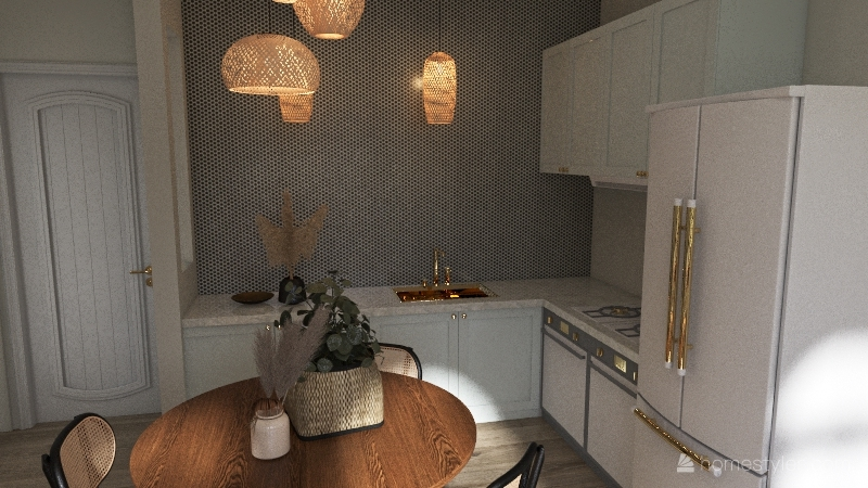 592 Apartment Interior Design Render