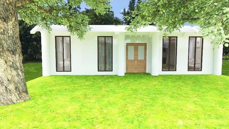 House #3 Interior Design Render