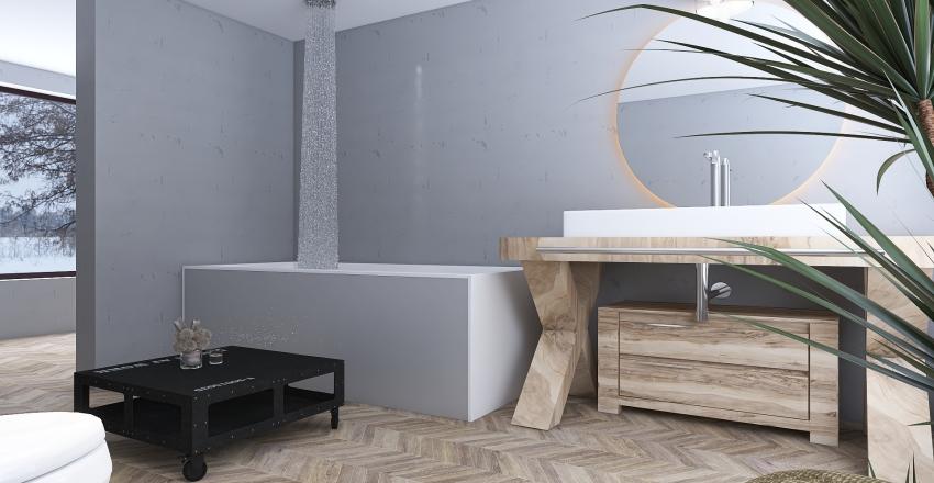 casa della natura Interior Design Render