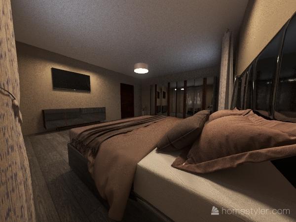 Copy of bedroom Interior Design Render