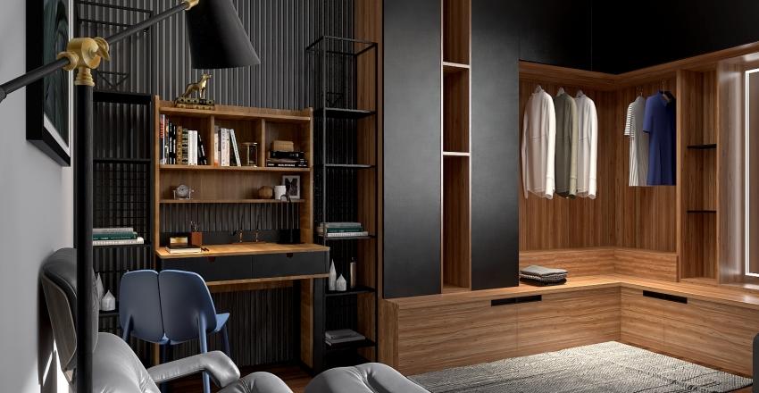 HOME OFICE Interior Design Render