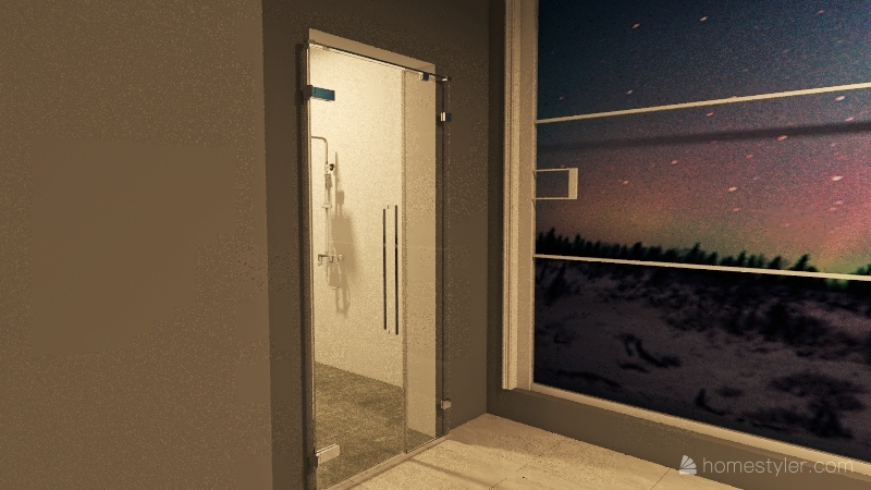 Modern Master Interior Design Render