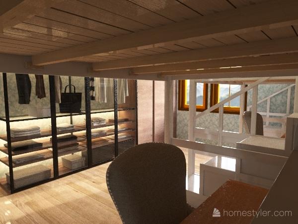 Copy of camera da letto ideale ste e ali Interior Design Render