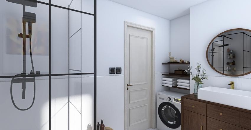 Kúpeľna Interior Design Render