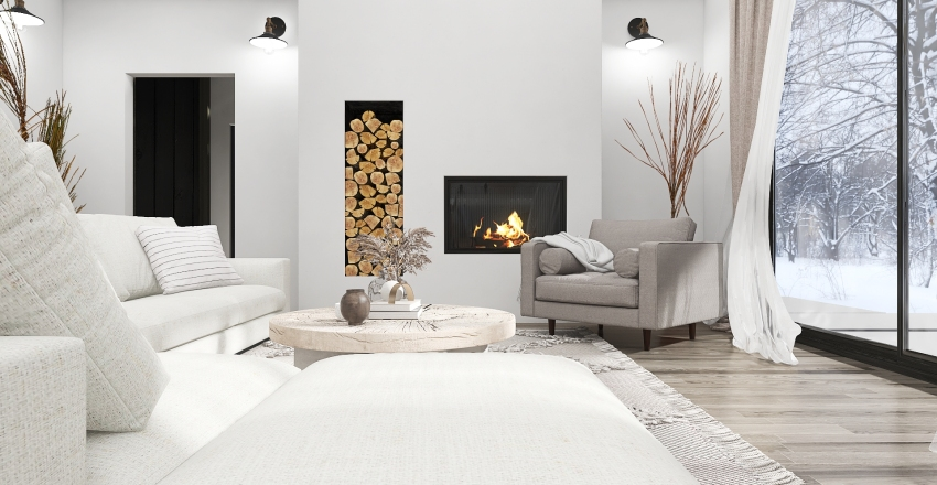 WINTER HOUSE Interior Design Render