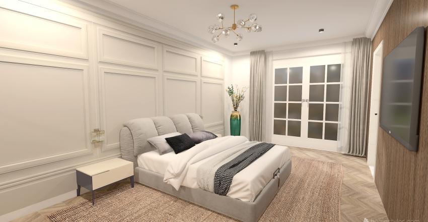 Apartment Pier Interior Design Render