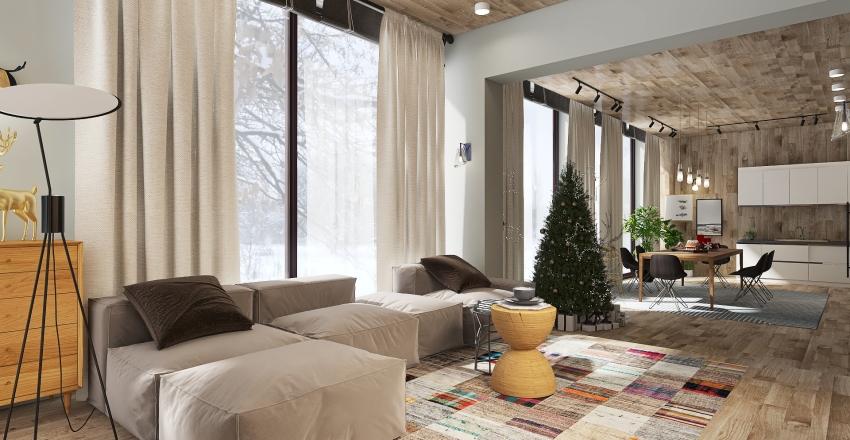 My Skandinavian Interior Design Render