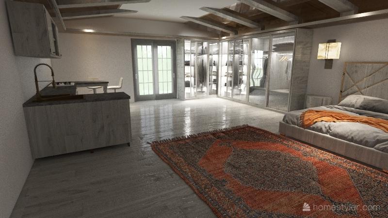 Portugal house design Interior Design Render