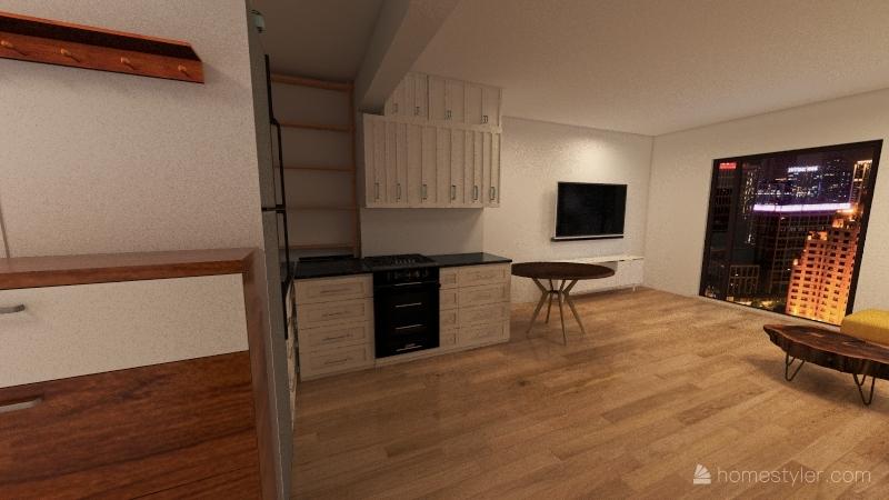 udostępniony remont Interior Design Render