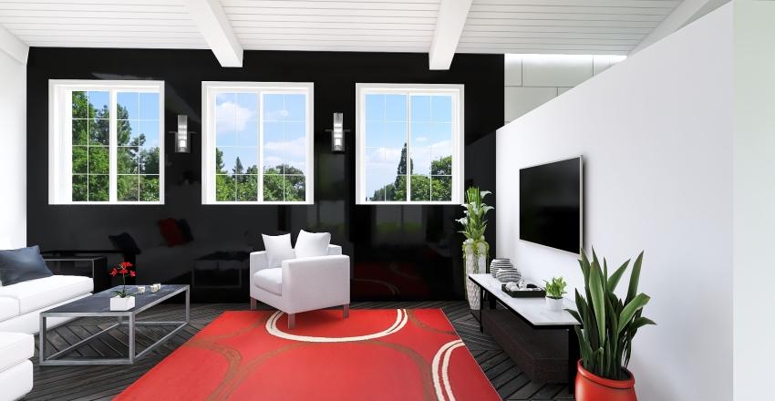 White house Interior Design Render