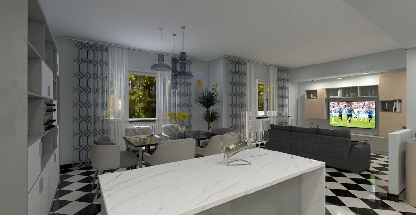 appartamento Interior Design Render