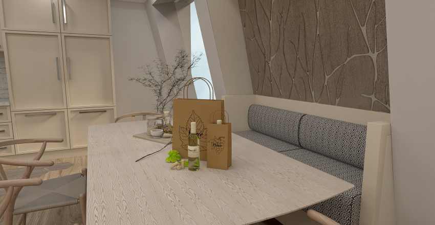Living on The Edge Interior Design Render