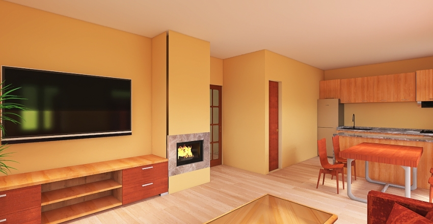 our new house Interior Design Render