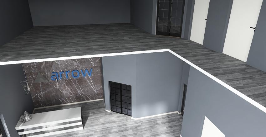 Arrow Office Interior Design Render
