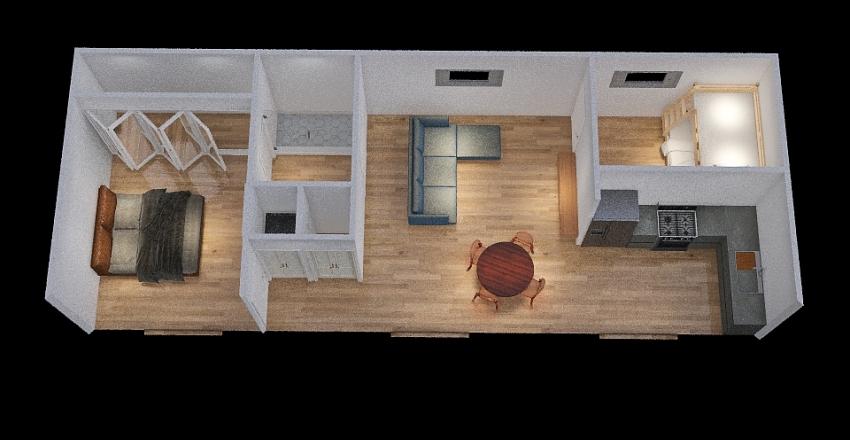 Jamie York St. Guest House - 2.13.2021_copy Interior Design Render