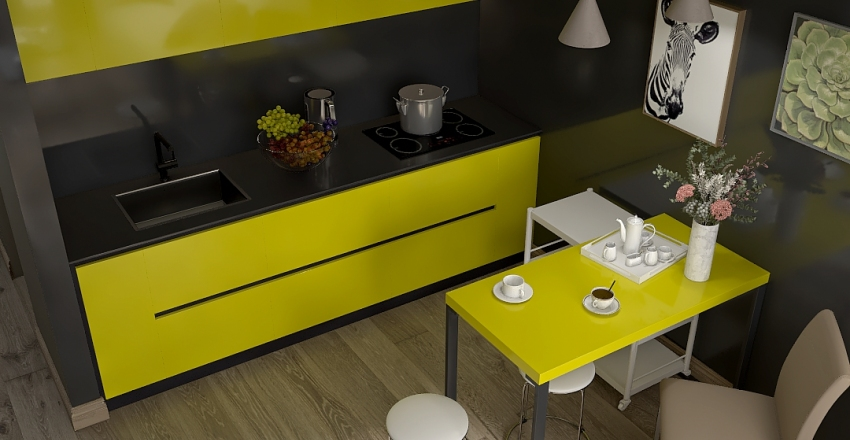 студия 01.1 Interior Design Render