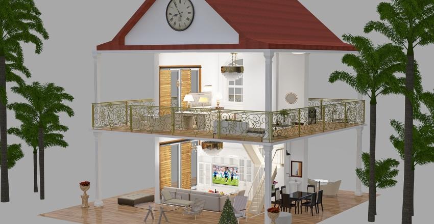 涼庭屋 32 Interior Design Render