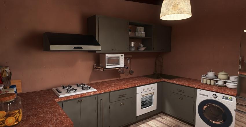 Mark and Kassandra's Retreat Interior Design Render