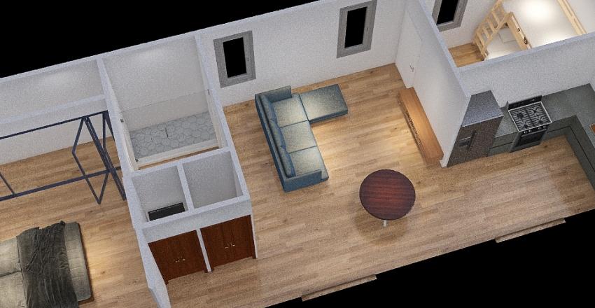 V2Jamie York St. Guest House - 2.13.2021_copy Interior Design Render