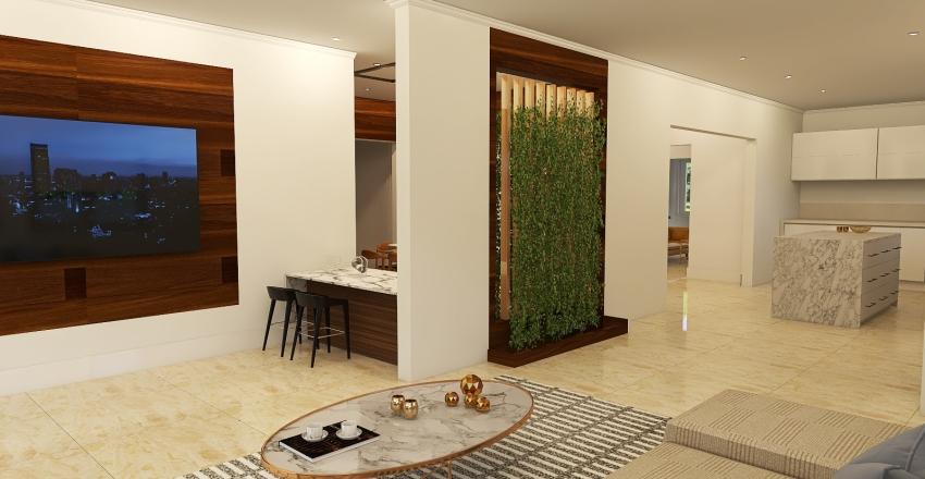 Miami G&K dulce hogar #2 Interior Design Render