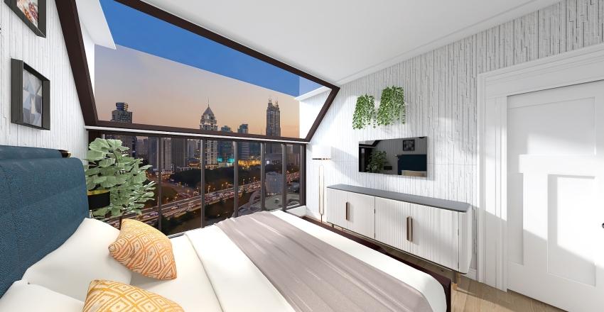 Skylight Apartment Interior Design Render