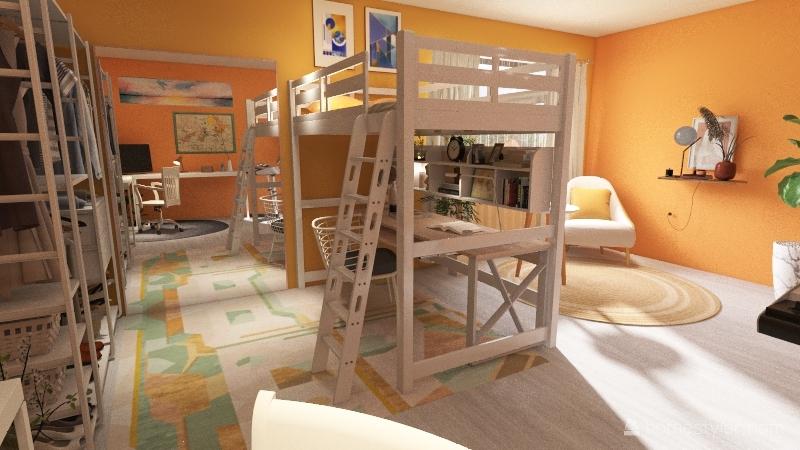 ☆.。.:*DREAM BEDROOM.。.:*☆ Interior Design Render