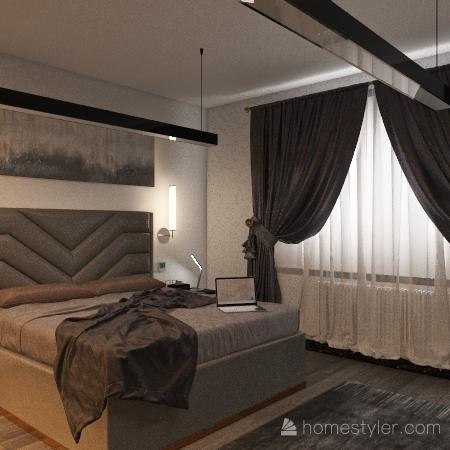 Pokoj-Tomáš Šrámek Interior Design Render