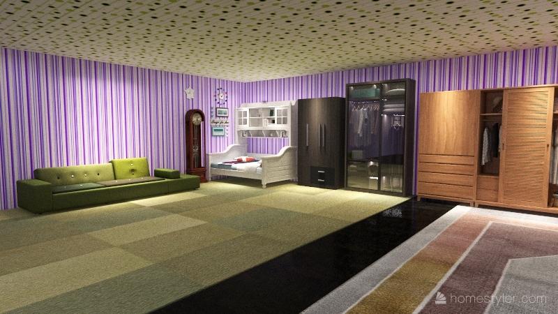 fun house Interior Design Render