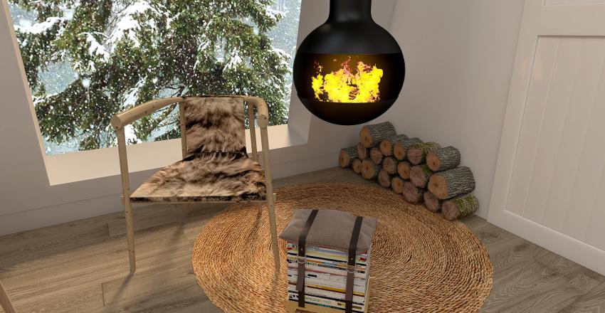 Living on The Edge Interior Design Render