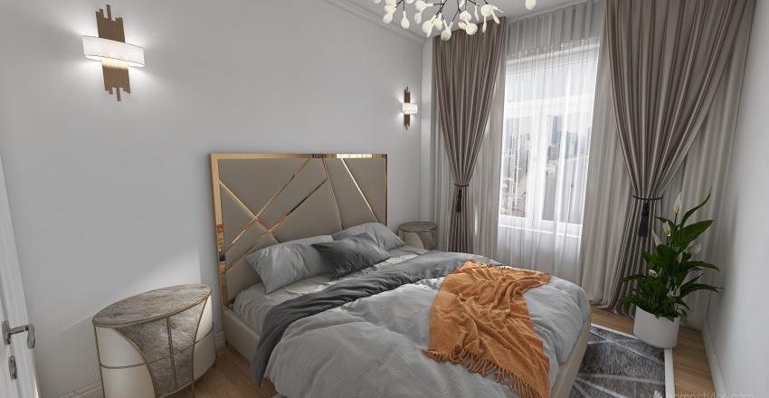 2 ком квартира 56,6 м2 Interior Design Render