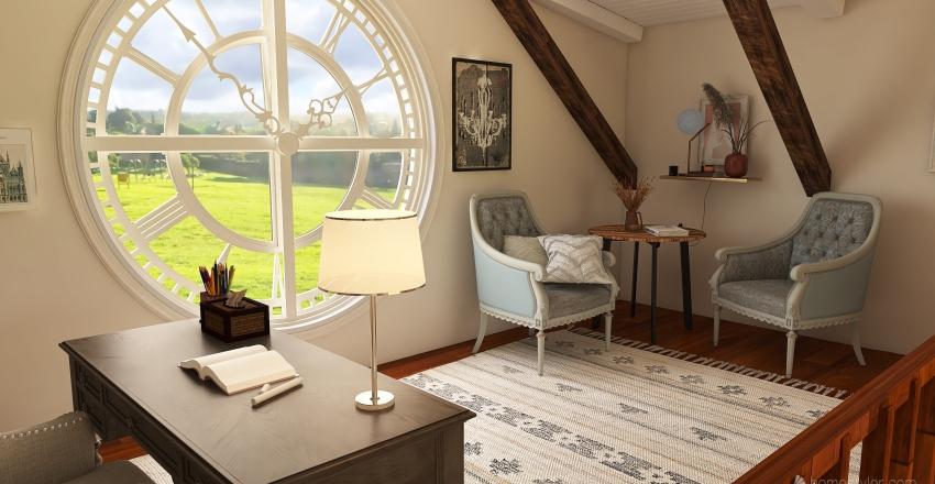 Barnhouse Interior Design Render
