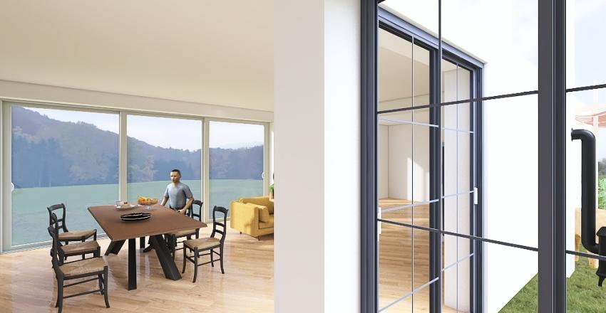 Dopasowany bardziej z kuchnia v2 Interior Design Render