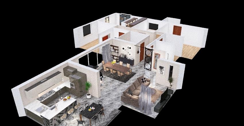 PROVA PAVIMENTO Interior Design Render