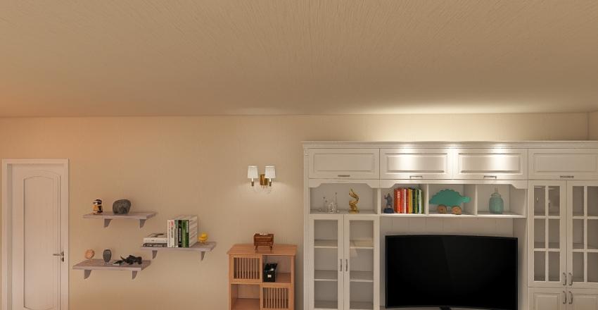 Recreational Room Interior Design Render