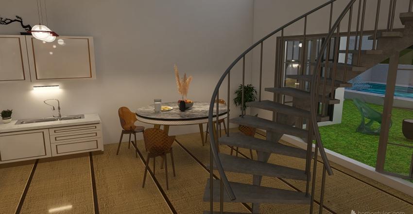 Splendid Villa Interior Design Render