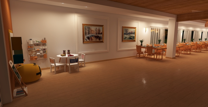 BAR LADEK ZDROJ Interior Design Render