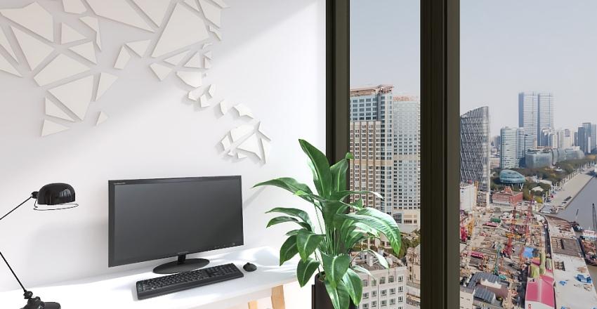Dream Office - Sydney Chan Interior Design Render