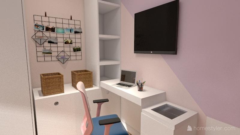 Quarto de Menina -  Interior Design Render